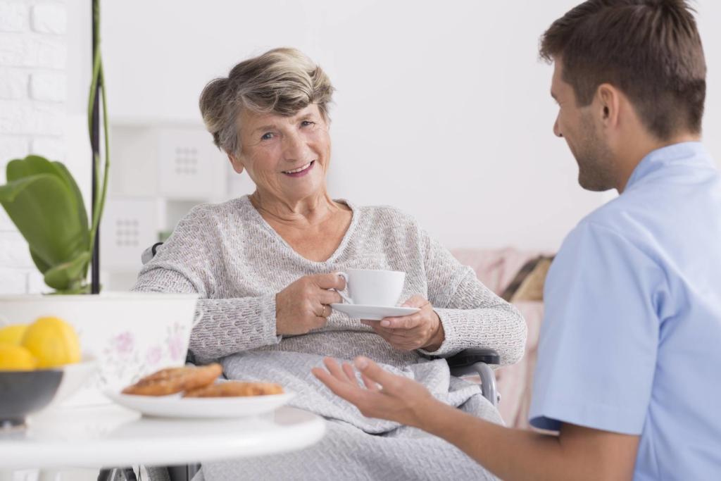 Diakoniestation Pforzheim Service Beratung älterer Menschen Kontaktvermittlung zu sozialen Diensten Beratungseinsätze für Ihre Pflegekasse nach § 37 SGB XI Pflegeschulung in der häuslichen Umgebung nach § 45 SGB XI
